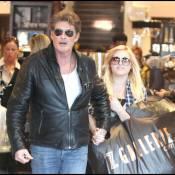 David Hasselhoff : Losqu'il est avec sa fille... tout baigne !