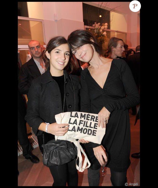 Zabou breitman et sa fille la soir e comptoir des - Comptoir des cotonniers mere et fille ...