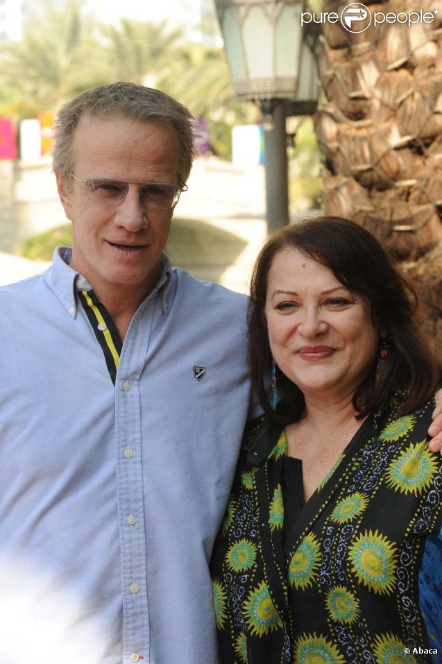 Christophe Lambert et Josiane Balasko lors du 6e Festival international du Film de Dubaï, le 14 décembre 2009.
