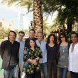 La délégation française lors du 6e Festival international du Film de Dubaï, le 14 décembre 2009.