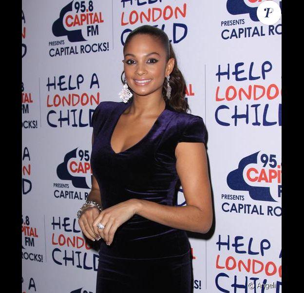 Alesha Dixon  lors de la soirée Capital FM, In aid of Help a London Child le 14 décembre 2009 au Old Billinsgate Market à Londres