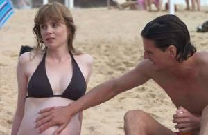 Regardez Isabelle Carré vivre sa véritable grossesse... dans un refuge !