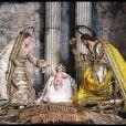 Carte de voeux du roi et de la reine d'Espagne Juan Carlos et Sofia