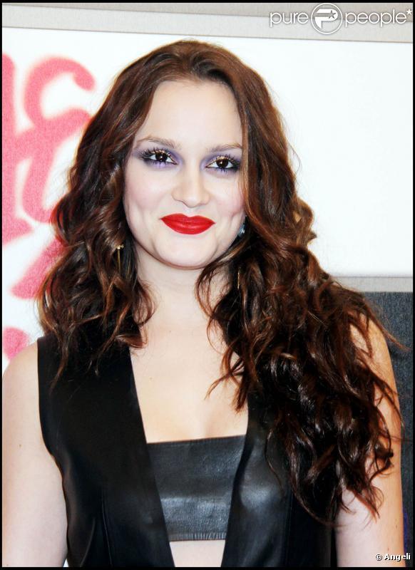 Leighton Meester : Une it-girl dont le maquillage restera gravé dans les annales