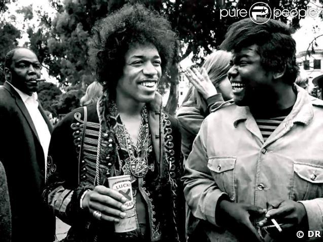 Jimi Hendrix et Buddy Miles