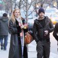 Ricky Martin, surpris avec une jolie inconnue, dans les rues de New York, il y a quelques jours.