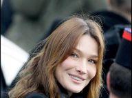Carla Bruni a fêté ses 42 ans avec son fils, son chéri et... sa tante Gigi !