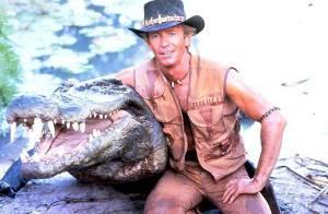 On a retrouvé Crocodile Dundee et sa jolie femme... Le temps qui passe ne les a pas épargnés !
