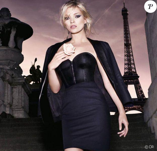 Kate Moss pour Parisienne le nouveau parfum d'Yves Saint Laurent