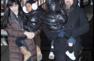 Angelina Jolie et Brad Pitt : La famille bonheur est de sortie mais... Angie fait bouillir la marmite  !