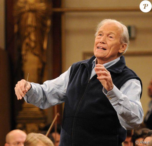 Georges Prêtre a dirigé à Vienne le concert du Nouvel An 2010, record de diffusion à la clé.