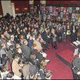 Tout le monde réunit pour la 19ème rencontre du théâtre privé (12 janvier 2010, Paris)