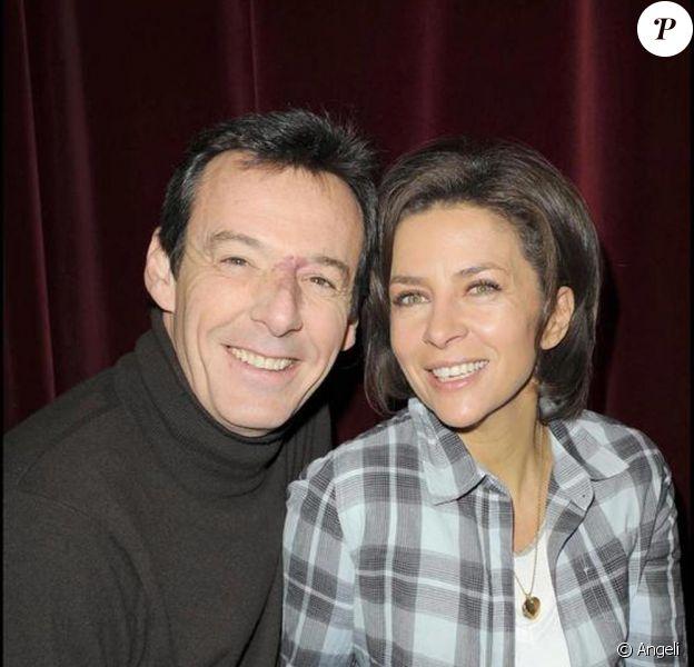 Corinne Touzet et Jean-Luc Reichmann