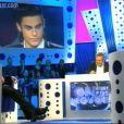 Laurent Ruquier reçoit la nouvelel égérie de Lagerfeld