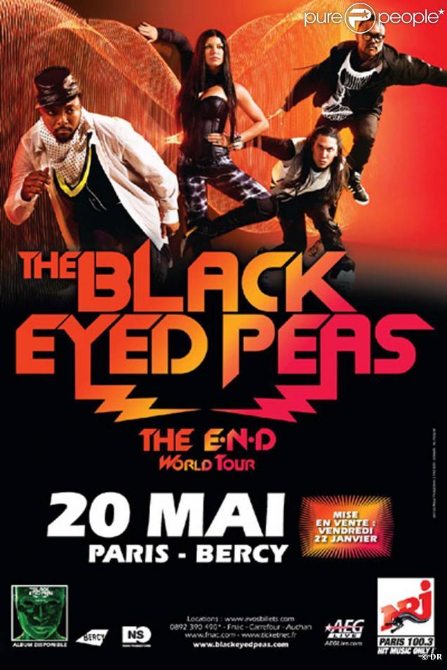 Les Black Eyed Peas seront en concert à Paris-Bercy le 20 mai 2010