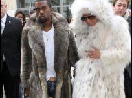 Quand Kanye West se prend pour un ours, sa copine Amber Rose se transforme... en Yéti ! Ridicule !