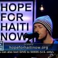 Coldplay pour Hope for Haïti