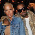 Amber Rose et Kanye West au défilé Dior à Paris