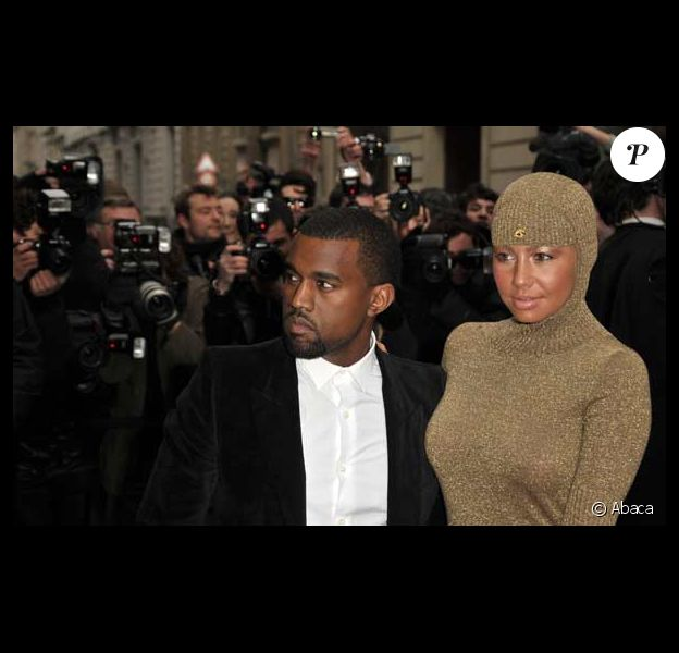 Kanye West et Amber Rose