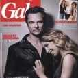 David Hallyday et Laura Smet en couverture de Gala, photographiés par Guillaume Gelley.