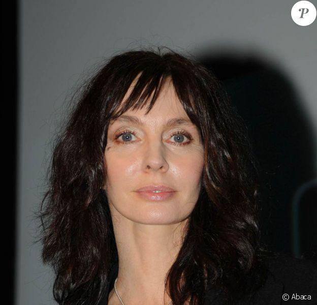 La belle Anne Parillaud à l'occasion de l'ouverture du 17e festival Fantastic'Arts, à Gerardmer, le 27 janvier 2010.