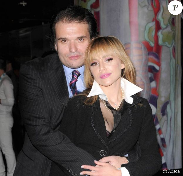 L'actrice Brittany Murphy et son mari Simon Monjack.