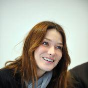 """Carla Bruni s'emporte contre Harry Roselmack... et avoue : """"Je ne suis pas forcément très sociable"""" !"""