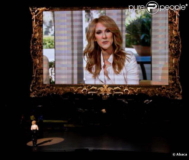 Message de Céline Dion à Bette Midler qui fait ses adieux à Las Vegas, le 31 janvier 2010 !