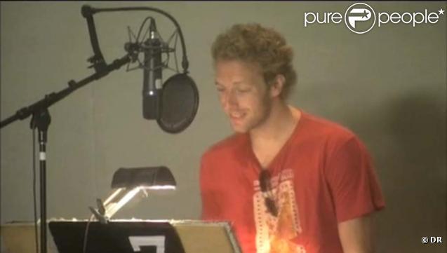 Chris Martin enregistre sa participation dans les Simpson