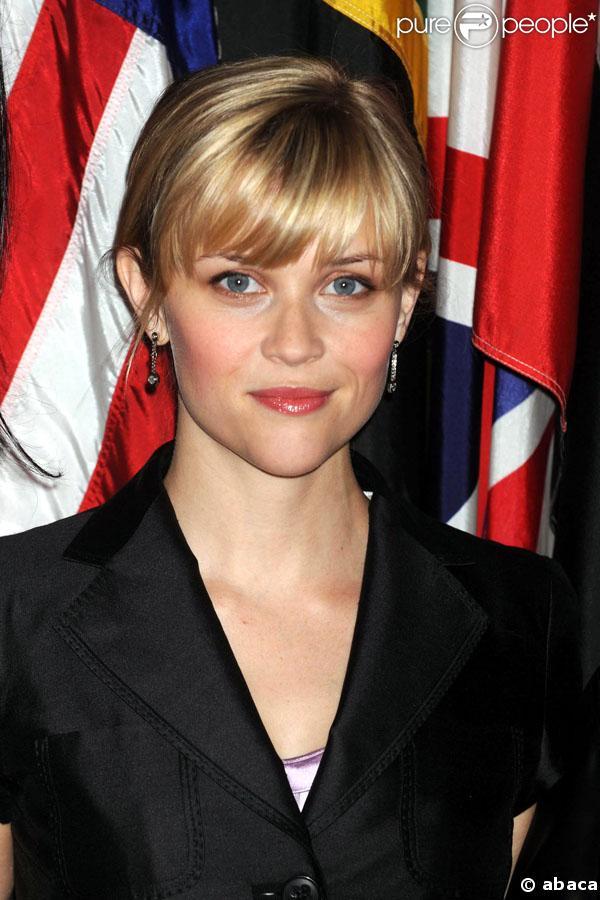 Reese Witherspoon à New York lors du sommet consacré à la violence faite aux femmes