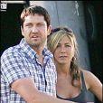 Gerard Butler et Jennifer Aniston sur le tournage de The Boutny Hunter