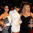 Sugababes sur le tapis rouge des Brit Awards, à Londres, le 16 février 2010 !