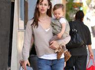"""Jennifer Garner : Maintenant que sa petite Seraphina sait marcher, un """"plan"""" est en marche..."""