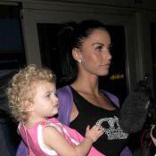 Katie Price a décidé de lisser les cheveux de sa fille de... 2 ans ! Le papa Peter Andre, est hors de lui !