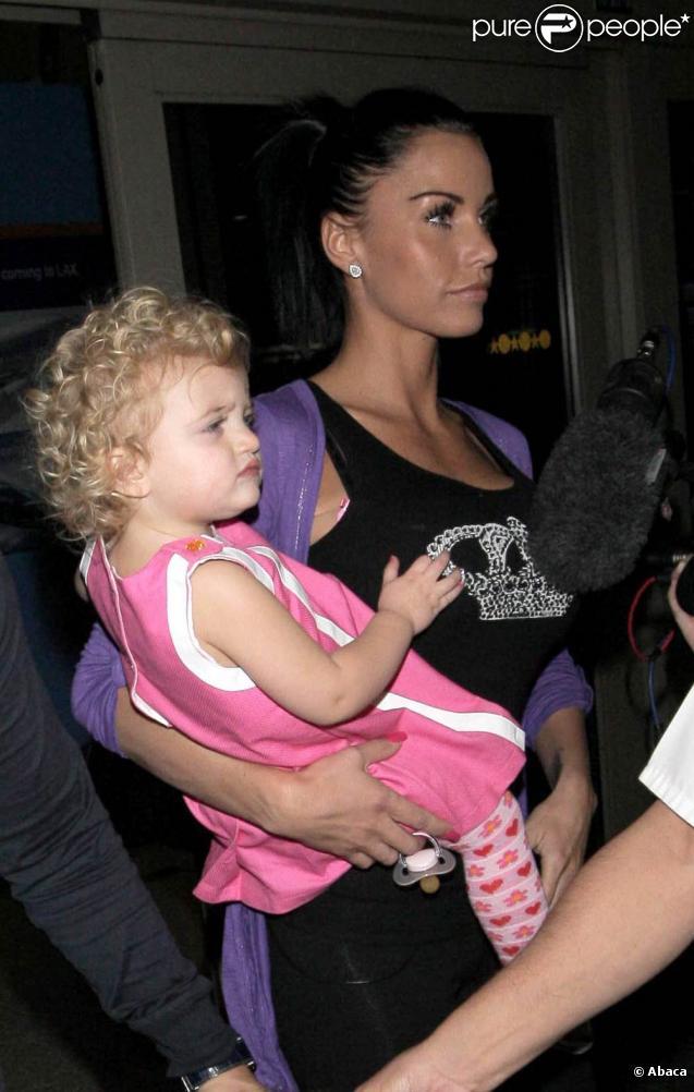 Katie Price et Princess Tiamii