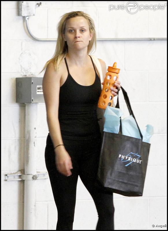 Reese Witherspoon sans maquillage, une blonde banale mais tout de même pétillante