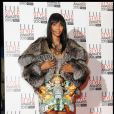 Naomi Campbell lors des ELLE Fashion Awards le 22/02/10