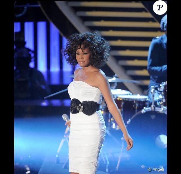 La chanteuse Whitney Houston !