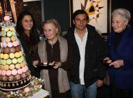 Michèle Morgan entourée des siens a fêté... ses 90 ans !