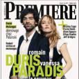 Vanessa Paradis et Romain Duris, stars de L'Arnacoeur, en couverture de Première