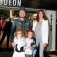 Jamie Oliver, son épouse Juliette, et leurs deux premières filles, Daisy Boo et Poppy Honey.