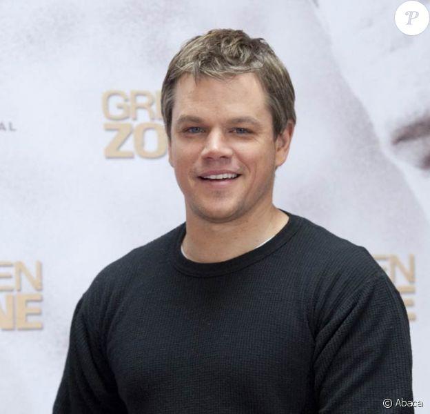 Matt Damon, de passage à Paris était sur l'antenne de NRJ.