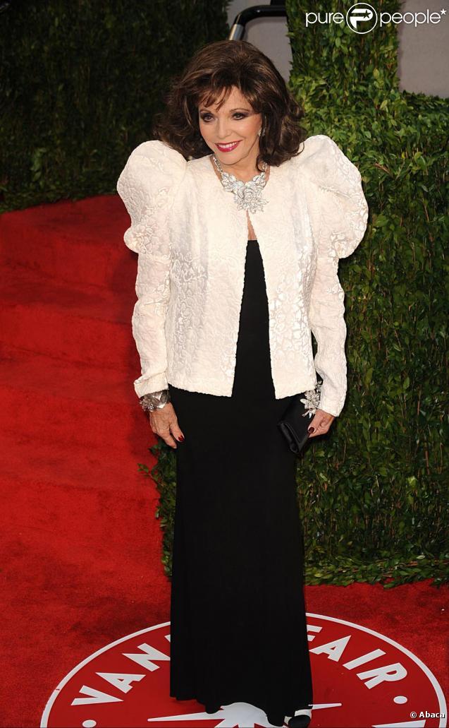 joan collins 2010. Joan Collins à la fête pour