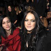 Lindsay Lohan : Son make-up la trahit, mais l'air de Paris lui réussit !