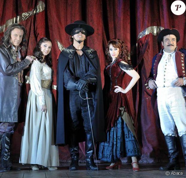Le 9 mars 2010, Zorro offre une heure de show gratuite...