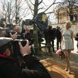 Anna Sherbinina au défilé Dior