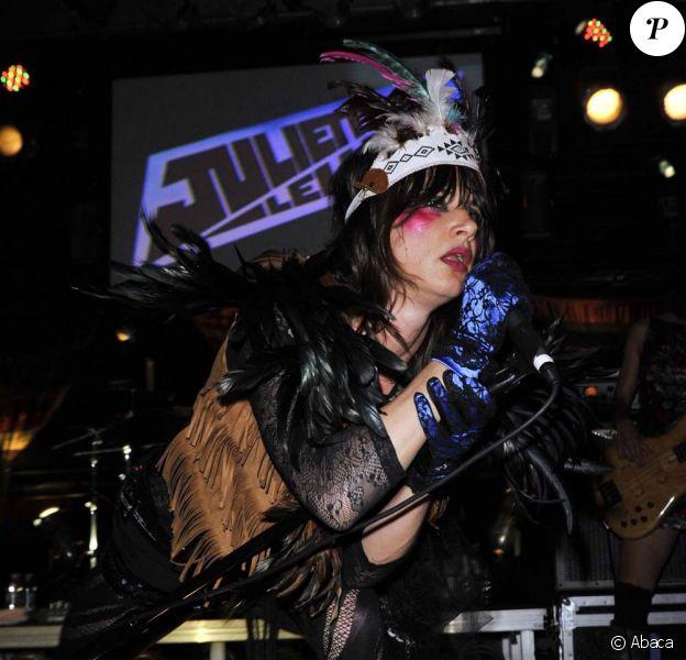 Juliette Lewis sur scène à Fort Lauderdale, le 27 septembre 2009 !
