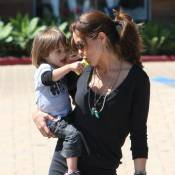 Brooke Burke : Pendant que David Charvet souffre... la sublime maman déborde d'amour !