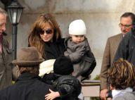 Brad Pitt et Angelina Jolie, avec leurs magnifiques jumeaux... Un quatuor glamour et tellement craquant !