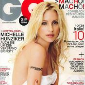Quand la magnifique Michelle Hunziker se dévoile... et vous attend lascivement au lit !